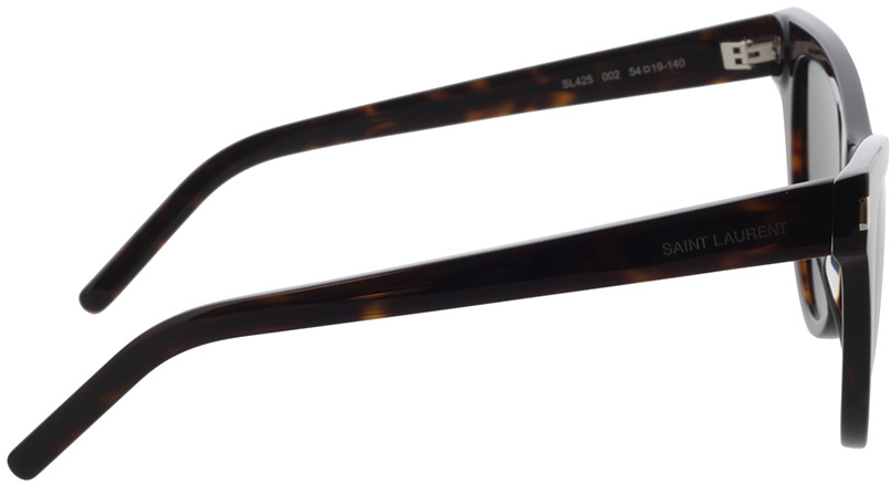 Picture of glasses model Saint Laurent SL 425-002 54-19 in angle 90
