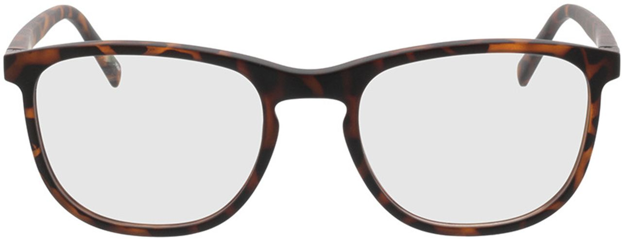 Picture of glasses model Tilia-braun-meliert in angle 0