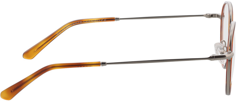 Picture of glasses model Moody-silber/hellbraun-meliert in angle 90