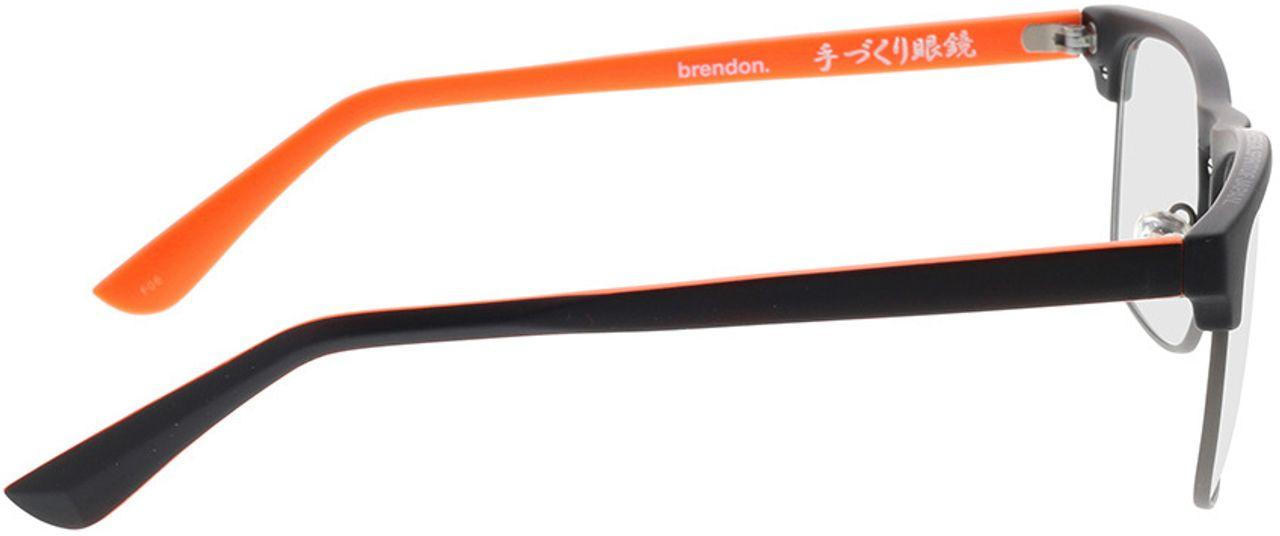 Picture of glasses model Superdry SDO Brendon 104 black 56-18 in angle 90