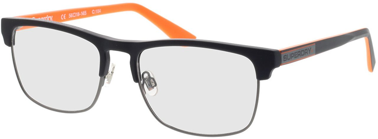 Picture of glasses model Superdry SDO Brendon 104 black 56-18 in angle 330