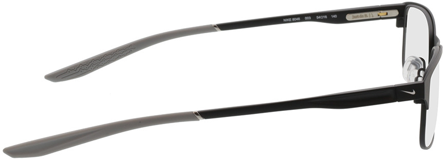 Picture of glasses model Nike NIKE 8046 003 54-16 in angle 90