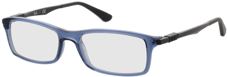 Picture of glasses model Ray-Ban RX7017 8122 54-17 in angle 330
