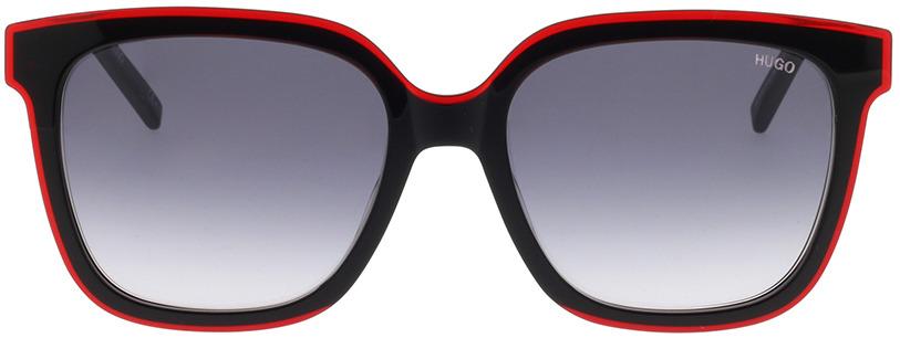 Picture of glasses model Hugo HG 1051/S OIT 54-18 in angle 0