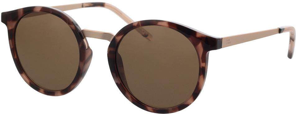 Picture of glasses model TAKE A SHOT Leonie: Pebble - Brown Bio TR-90 + Metal in angle 330