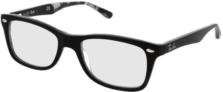Picture of glasses model Ray-Ban RX5228 5405 50-17 in angle 330