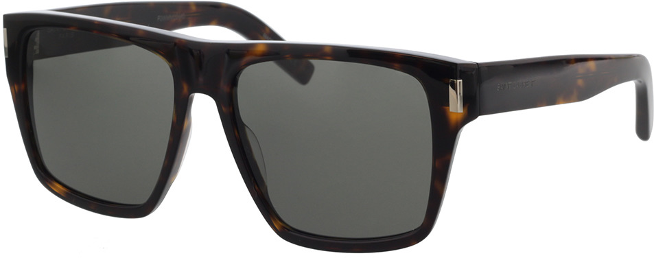 Picture of glasses model Saint Laurent SL 424-002 56-16 in angle 330