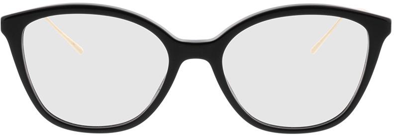 Picture of glasses model Prada PR 11VV 1AB1O1 53-17 in angle 0