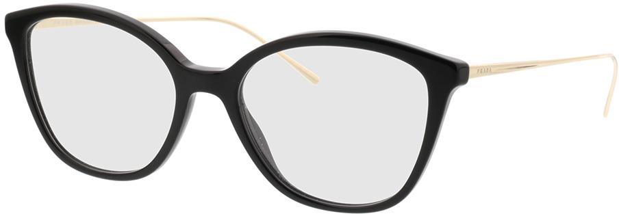 Picture of glasses model Prada PR 11VV 1AB1O1 53-17 in angle 330