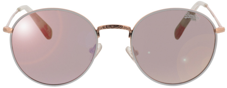 Picture of glasses model Superdry SDS Enso 204 wit/rose Goud 58-16 in angle 0