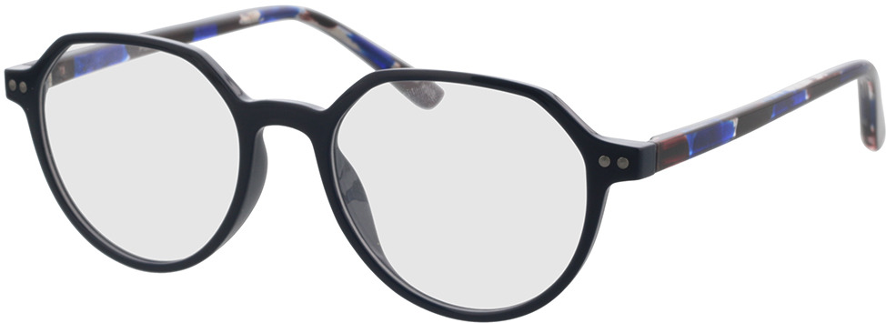 Picture of glasses model Pisco-dunkelblau in angle 330