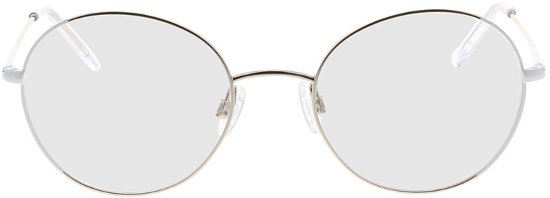Picture of glasses model Comma, 70095 10 zilver 50-19 in angle 0