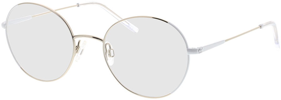 Picture of glasses model Comma, 70095 10 zilver 50-19 in angle 330