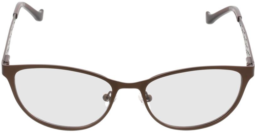 Picture of glasses model Delhi castanho in angle 0
