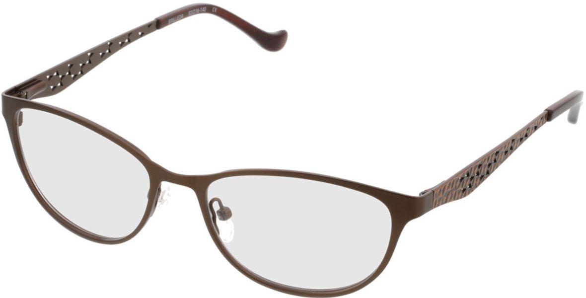 Picture of glasses model Delhi-brown in angle 330