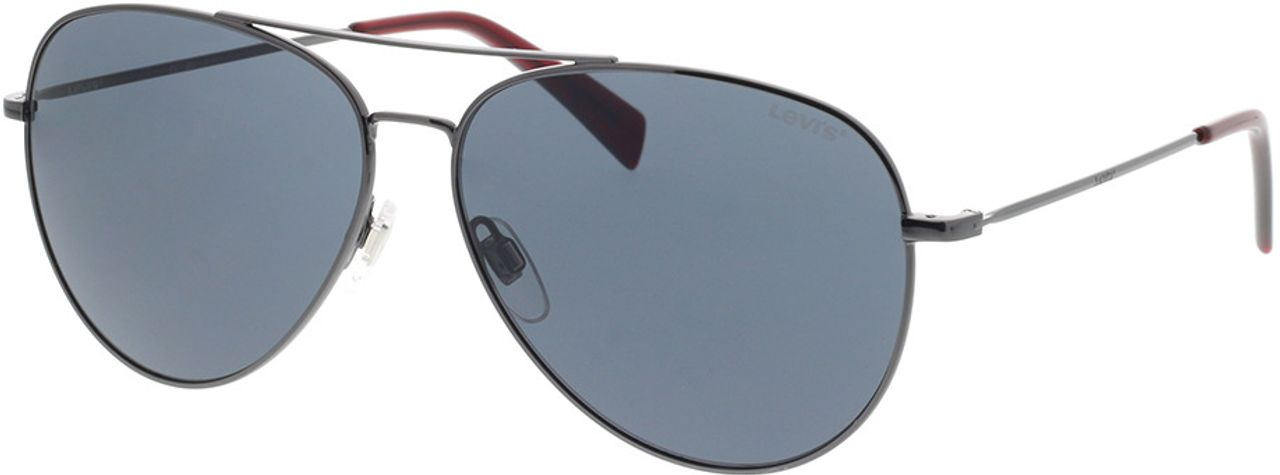 Picture of glasses model Levi's LV 1006/S 9N2 60-13 in angle 330