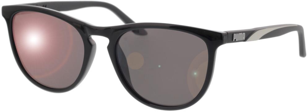 Picture of glasses model Puma PU0345S-001 54-18 in angle 330