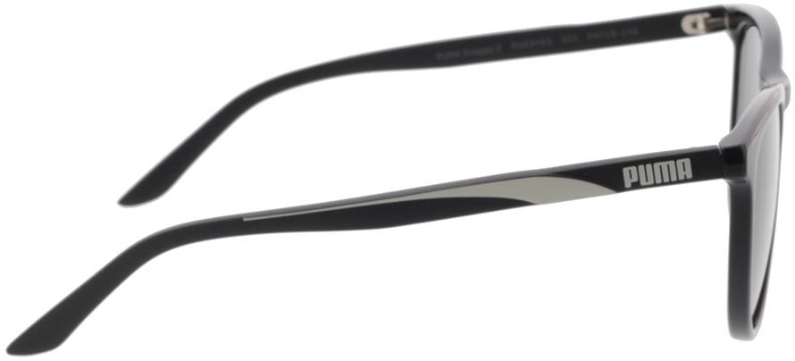 Picture of glasses model Puma PU0345S-001 54-18 in angle 90