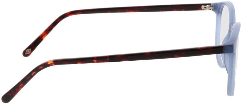 Picture of glasses model Siro-blau/braun-meliert in angle 90