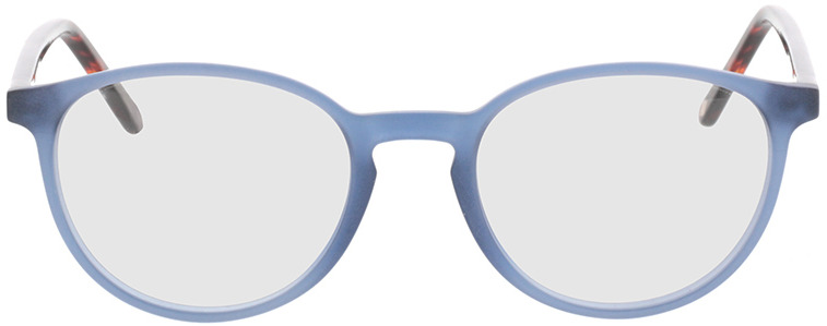 Picture of glasses model Siro-blau/braun-meliert in angle 0