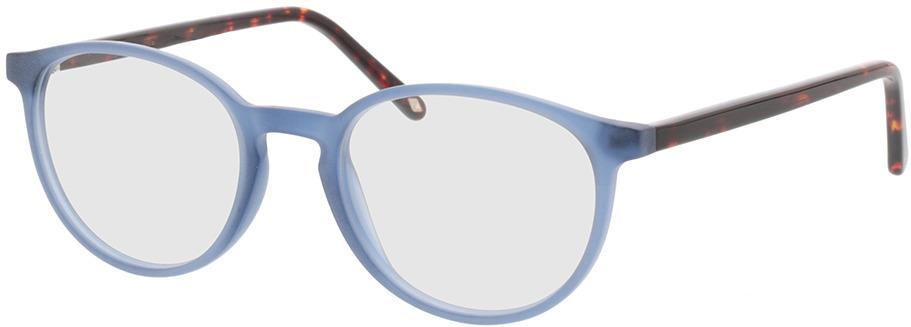 Picture of glasses model Siro-blau/braun-meliert in angle 330
