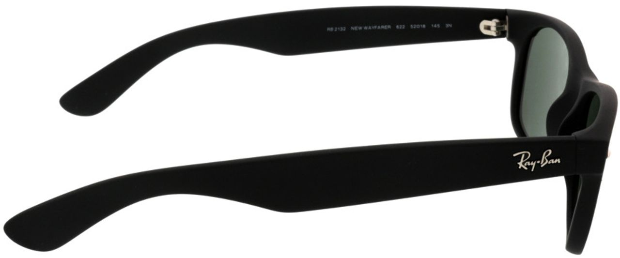 Picture of glasses model Ray-Ban New Wayfarer RB2132 622 52-18 in angle 90