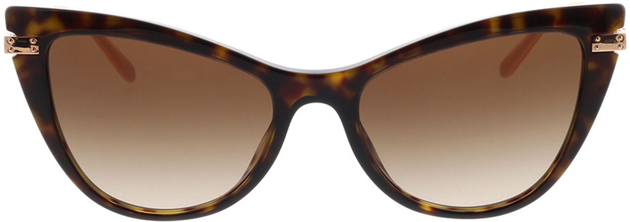 Picture of glasses model Dolce&Gabbana DG4381 502/13 54-18 in angle 0