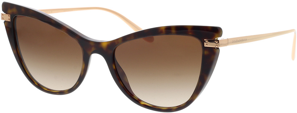 Picture of glasses model Dolce&Gabbana DG4381 502/13 54-18 in angle 330