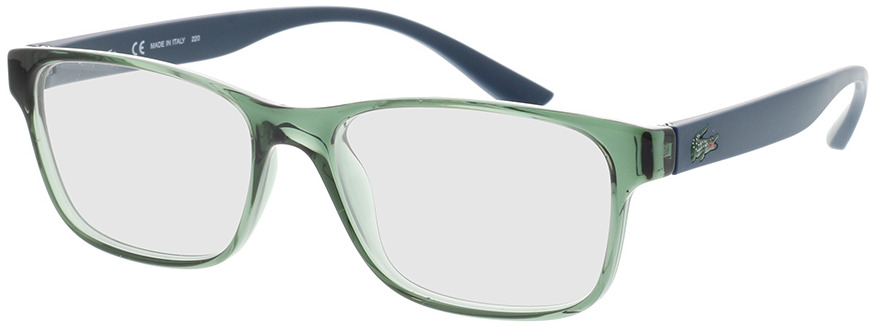 Picture of glasses model Lacoste L3804B 318 51-16 in angle 330