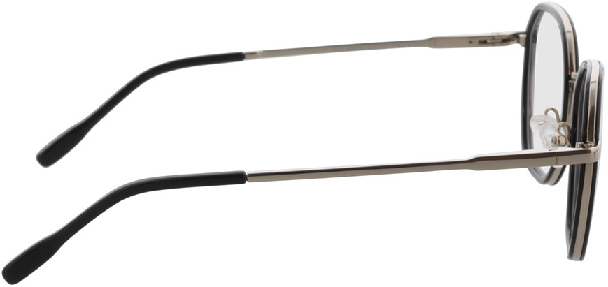 Picture of glasses model Galileo-schwarz/silber in angle 90