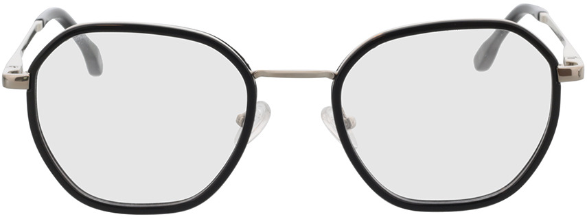 Picture of glasses model Galileo-schwarz/silber in angle 0
