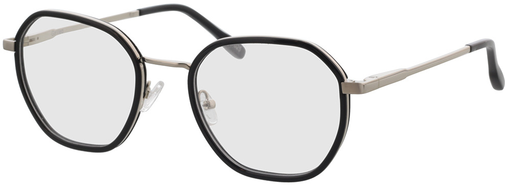 Picture of glasses model Galileo-schwarz/silber in angle 330