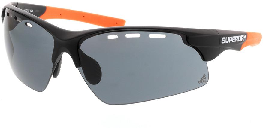 Picture of glasses model Superdry SDS Sprint 104 schwarz/orange 62-15 in angle 330