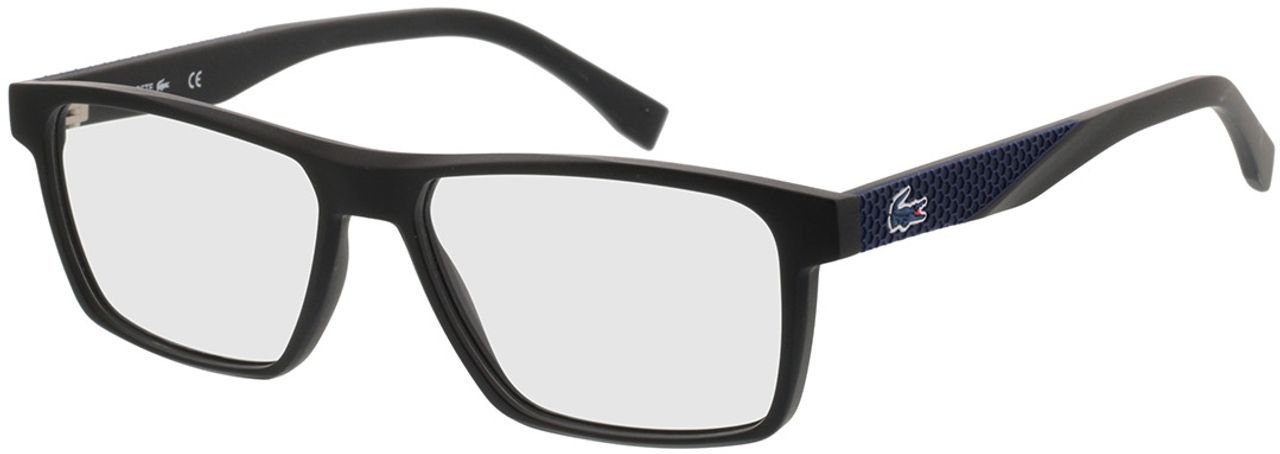 Picture of glasses model Lacoste L2843 001 56-15 in angle 330