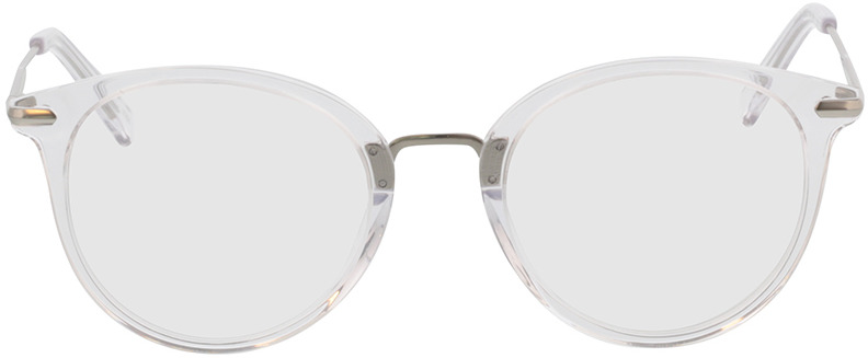 Picture of glasses model Dolina transparant/mat zilver in angle 0