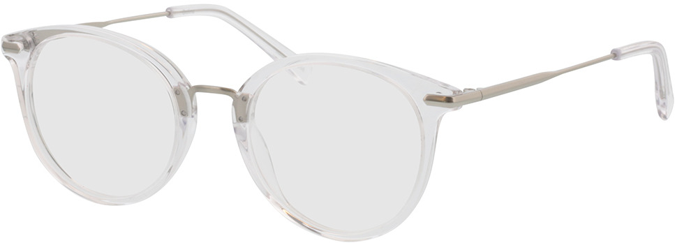 Picture of glasses model Dolina transparant/mat zilver in angle 330