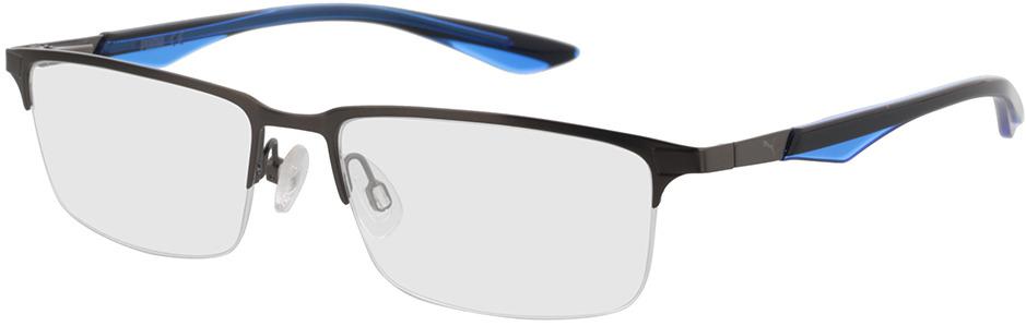 Picture of glasses model Puma PU0064O-004 54-16 in angle 330