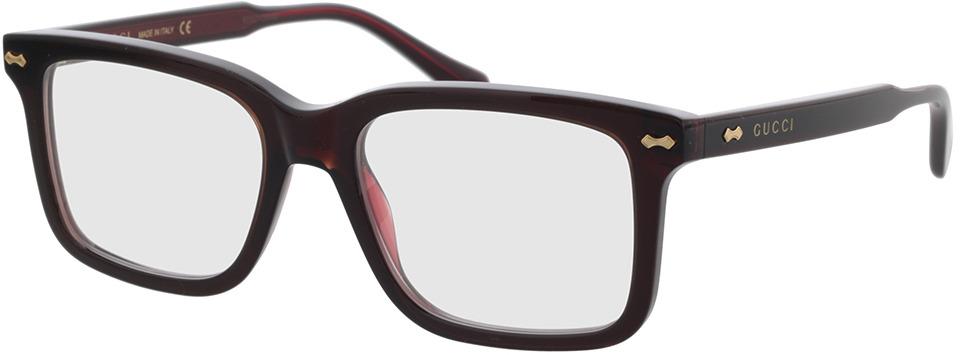 Picture of glasses model Gucci GG0914O-003 54-18 in angle 330