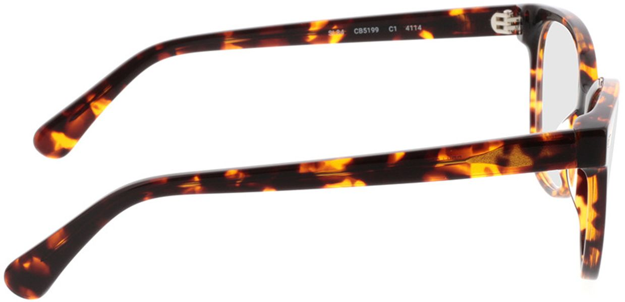 Picture of glasses model Gela-braun-meliert in angle 90