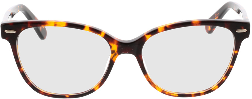 Picture of glasses model Gela-braun-meliert in angle 0