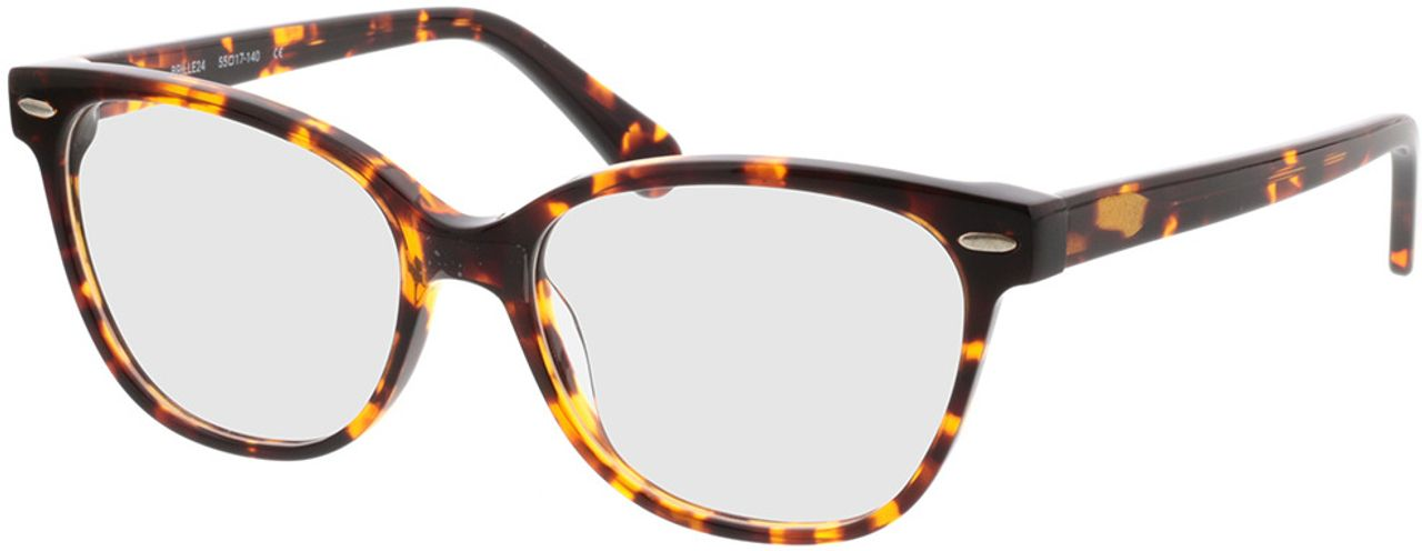 Picture of glasses model Gela-braun-meliert in angle 330