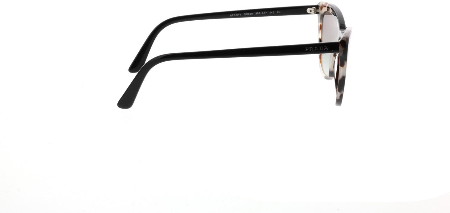 Picture of glasses model Prada PR 01VS 3980A7 56-20 in angle 90