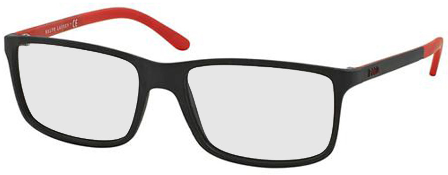Picture of glasses model Polo Ralph Lauren PH2126 5504 55-16 in angle 330