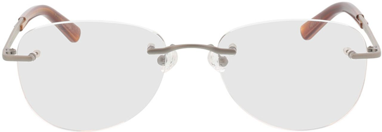 Picture of glasses model Geroli-silber in angle 0