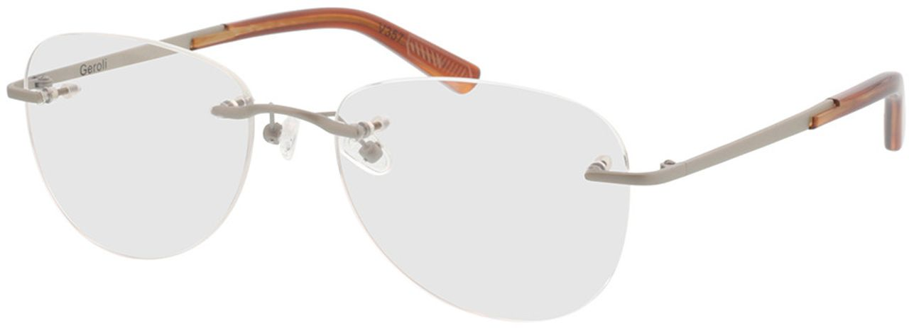 Picture of glasses model Geroli-silber in angle 330