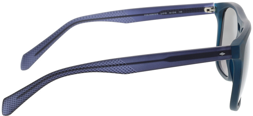 Picture of glasses model Fossil FOS 3096/G/S U1F 54-18 in angle 90