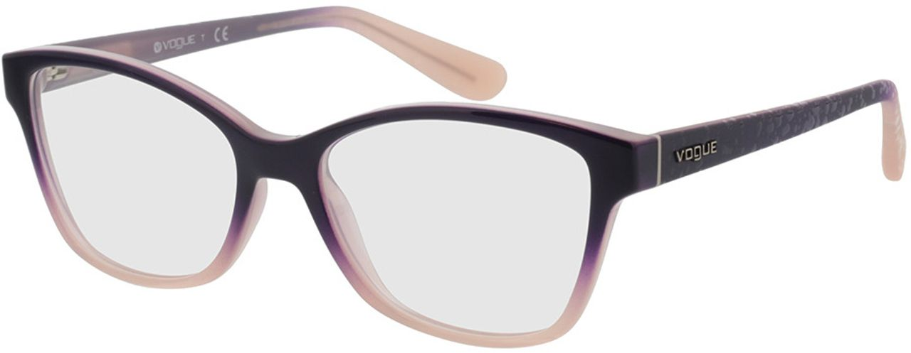 Picture of glasses model Vogue VO2998 2347 52-16 in angle 330
