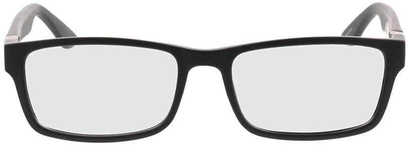 Picture of glasses model Tavian Mat zwart in angle 0