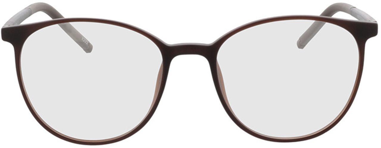 Picture of glasses model Conroe-matt braun in angle 0