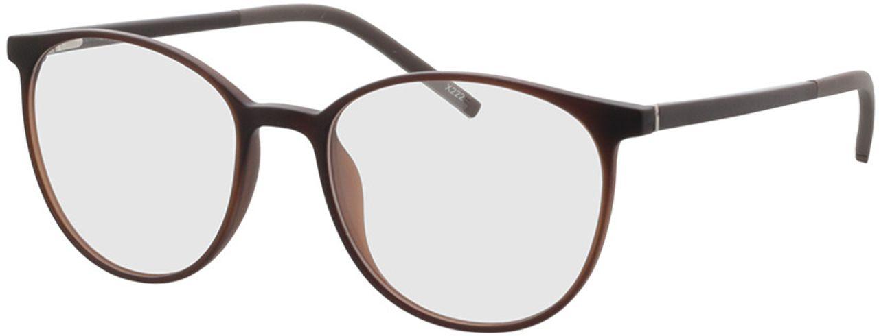 Picture of glasses model Conroe-matt braun in angle 330